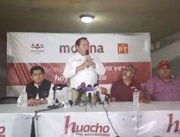 'Huacho' Díaz descalifica anuncios de Vila y Sahuí