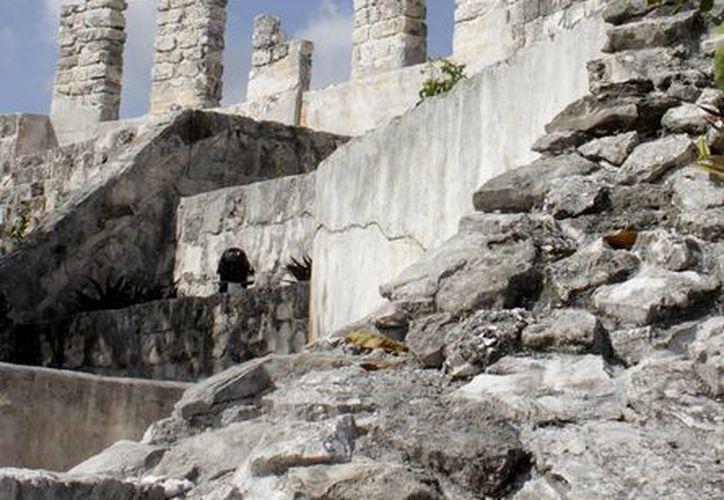 Algunas zonas arqueológicas de Quintana Roo formarán parte de los recorridos que organiza el INAH. (Francisco Gálvez/SIPSE)