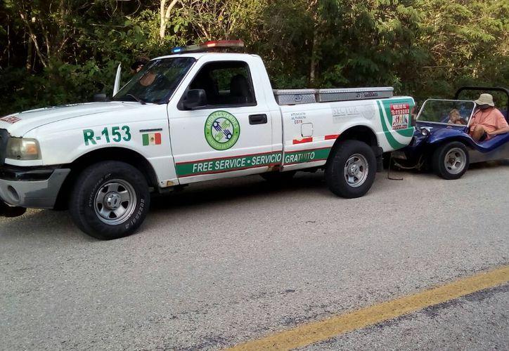 Durante la temporada vacacional de verano los Ángeles Verdes han atendido 680 servicios. (Cortesía).