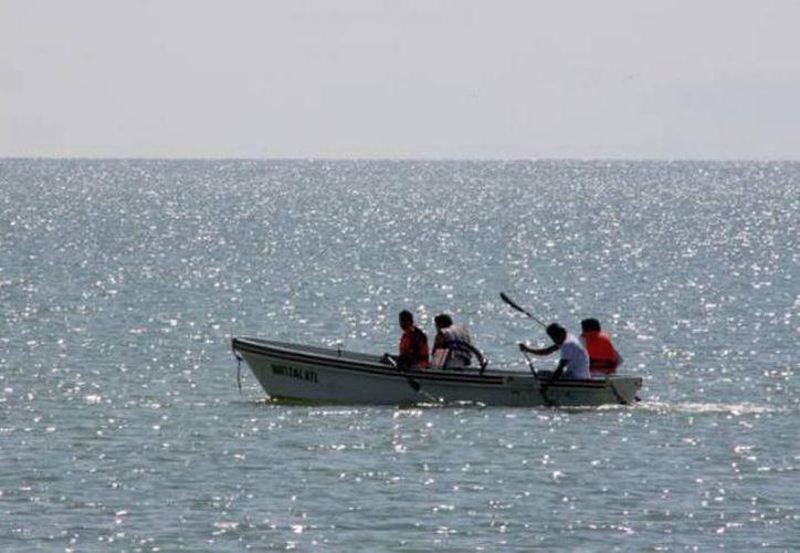 Los pescadores fueron encontrados a 150 kilómetros al suroeste de Puerto Chiapas. (Internet/Contexto)