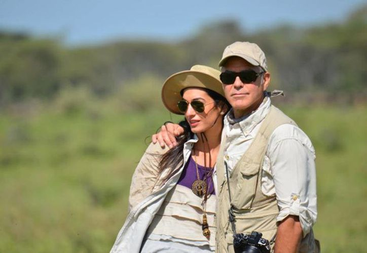 Clooney dejará la soltería de la mano de la activista Amal Alamuddin, al parecer, el próximo mes en Italia. (people.com)