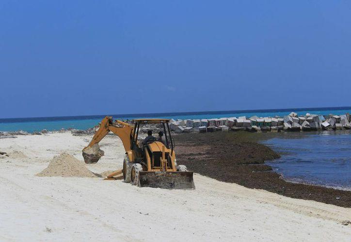 Aportó cerca de 45 millones de pesos a Fonatur para realizar proyectos de limpieza. (Luis Tijerina/ SIPSE)