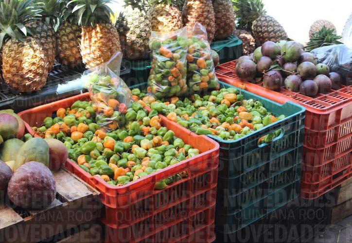 El chile habanero en de los pocos productos agropecuarios que exporta el estado. (Joel Zamora/SIPSE)