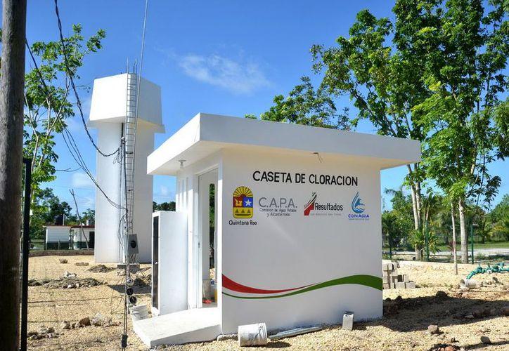 Finalizan 10 acciones de infraestructura hidráulica en beneficio de más de 6 mil 749 bacalarenses. (Cortesía/SIPSE)