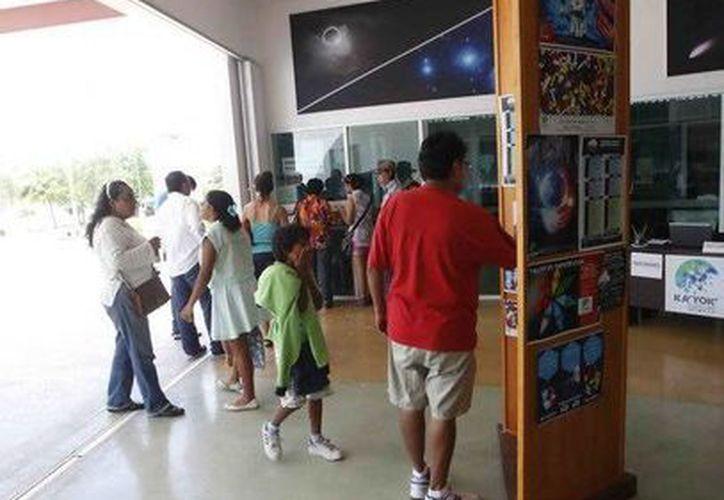 El Planetario de Cancún Ka' Yok en 2015 recibió al visita de más de 106 mil personas en sus instalaciones. (Redacción/SIPSE)