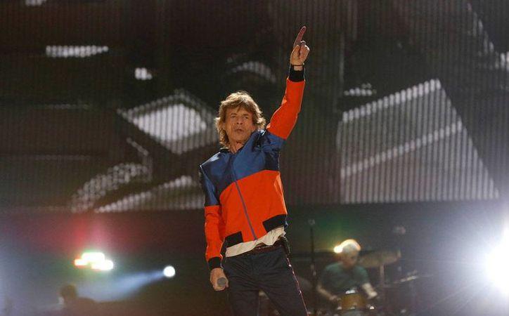 Mick Jagger, de 73 años de edad, permanece enfermo, situación que le impide cantar en el Festival de Las Vegas.(Foto tomada de Instagram/Mick Jagger)