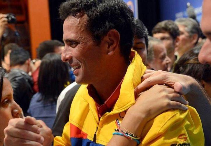 El candidata opositor a la presidencia de Venezuela Henrique Capriles (Agencias)