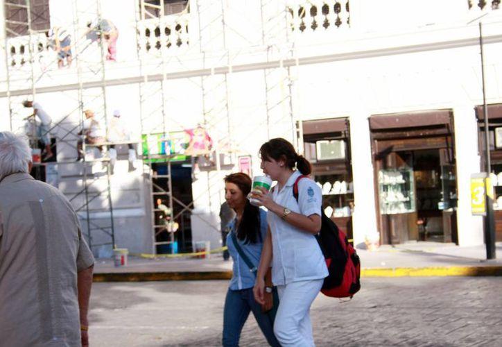 El calor dará una tregua a los yucatecos en las próximas horas. (Theany Ruz/SIPSE)