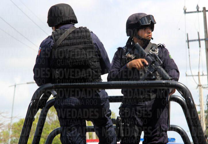 Los delitos de alto impacto son cometidos por grupos criminales que vienen de otras partes del país. (Foto: Luis Soto/SIPSE).