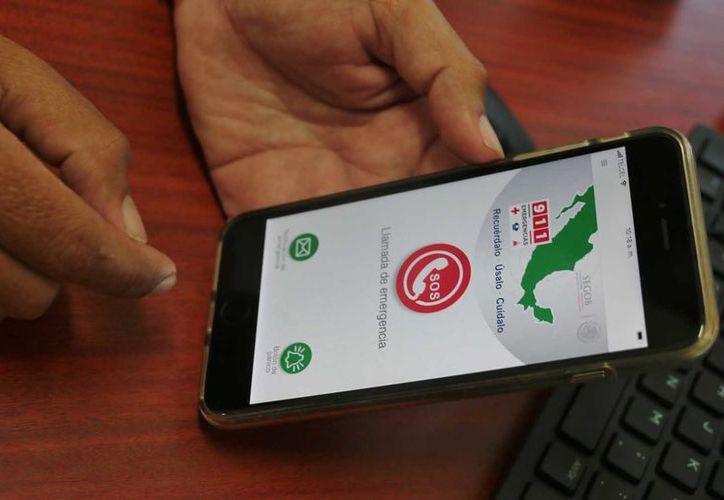 La app está diseñada para atender a la población en caso de emergencia. (Foto: Gustavo Villegas)