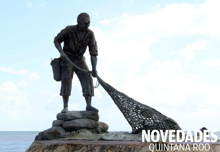 La obra fue creada por la escultora Rosa María Ponzanelli, logrando convertir el monumento en uno de los íconos más representativos de la capital. (Foto: Joel Zamora/SIPSE).