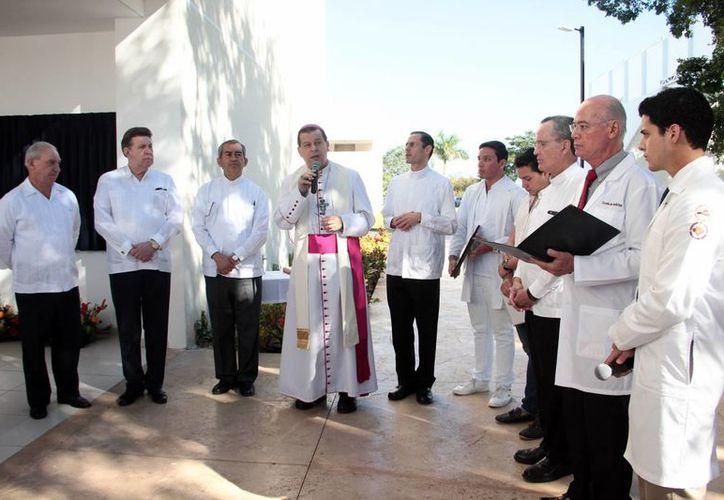 Ceremonia de inauguración del nuevo edificio 'José Trinidad Molina Castellanos' en la Universidad Anáhuac Mayab. (Milenio Novedades)