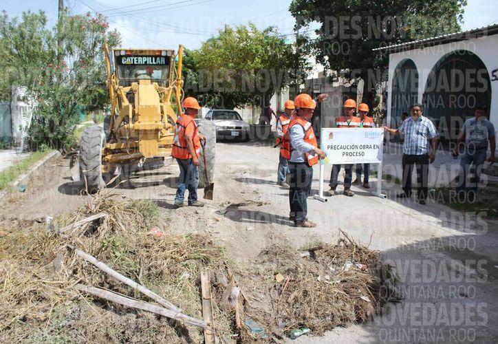 Inician trabajos para la modernización de vialidades urbanas. (Joel Zamora/SIPSE)