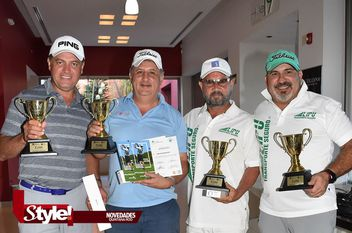 Torneo de golf en el campo de Riviera Cancún