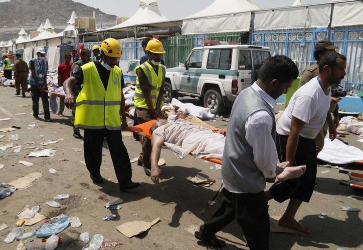 Según un recuento de The Associated Press, es mayor el número de peregrinos provenientes de Irán que fallecieron durante la estampida en La Meca. (Archivo/AP)