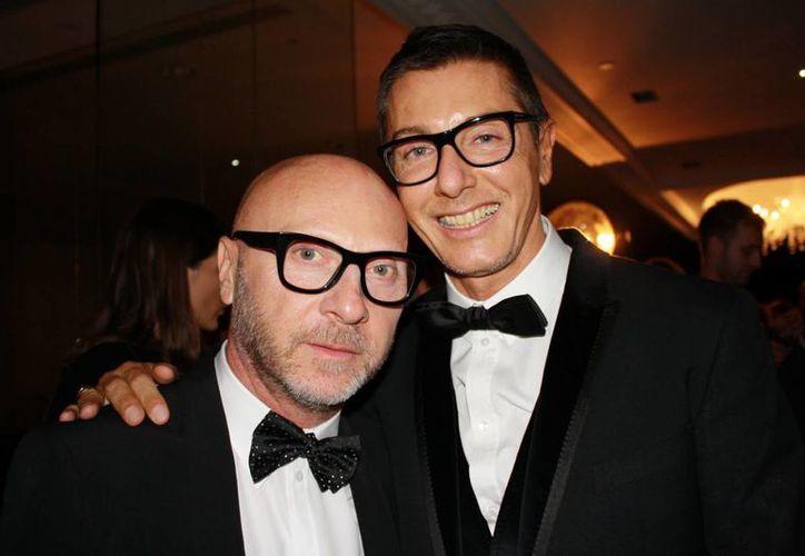 Domenico Dolce y Stefano Gabbana fueron condenados a un año y seis meses de cárcel cada uno. (Agencias/Archivo)