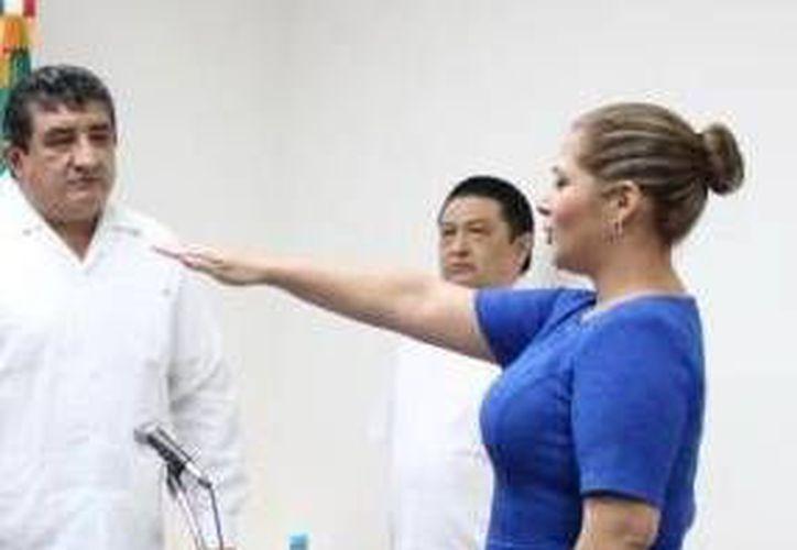 En las lista a regidores pluris, figuran la recién nombrada diputada local Adriana Martín Sauma. (Milenio Novedades)