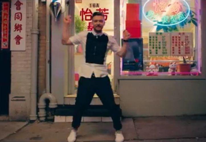 En el video Timberlake enseña sus mejores pasos de baile por las calles de Nueva York. (You tube)