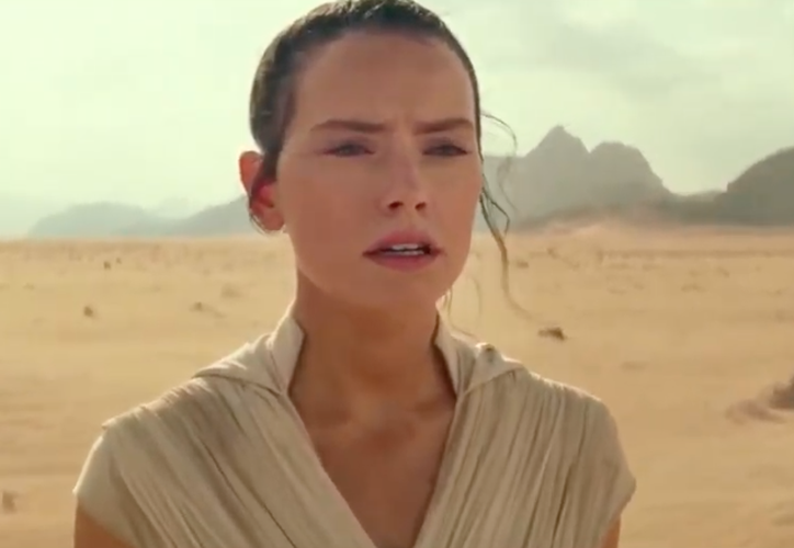 """Star Wars: Episode IX The rise of Skywalker"" será dirigida por JJ Abrams y llegará a las salas cinematográficas el 20 de diciembre. (Foto: Captura de pantalla video Notimex)"