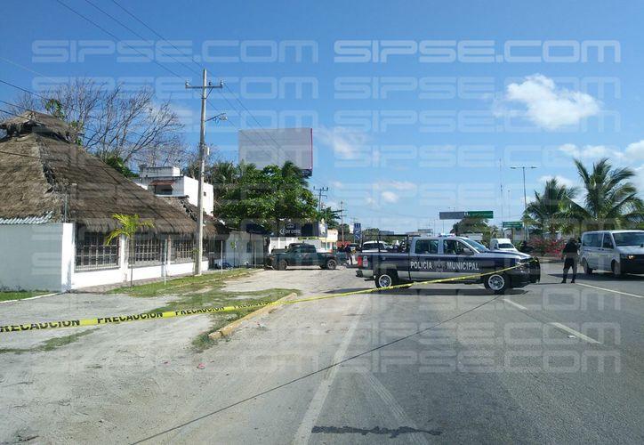 Sujetos abrieron atacaron a balazos a dos personas en la Bahía Petempich. (Luis Hernández/ SIPSE)