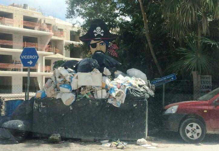 Los servicios de limpieza habían tenido problemas para ingresar  a los fraccionamientos Balam Tún, Lol Tún y Privanza del Mar.  (Octavio Martínez/SIPSE)