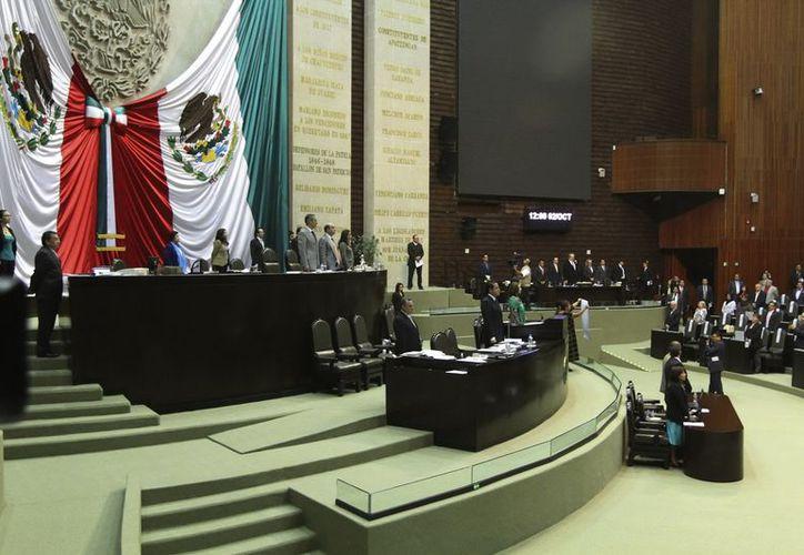 La Ley Orgánica de la Administración Pública Federal fue aprobada en la Cámara de Diputados. (Notimex)