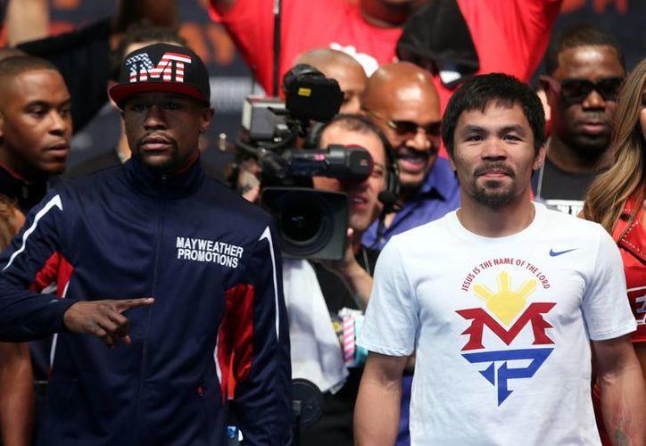 Manny Pacquiao será operado en un hombro y podría ser sancionado por no avisar de una lesión previo a su pelea contra Floyd Mayweather. (Notimex)
