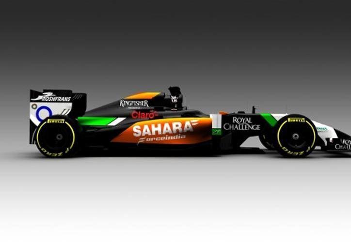 De acuerdo Vijay Mallya, responsable del equipo de F1 Sahara Force India, el nuevo auto de la escudería -que estrenará el piloto mexicano <i>Checho</i> Pérez- es negro porque esto le da una 'mirada feroz'. (forceindiaf1.com)