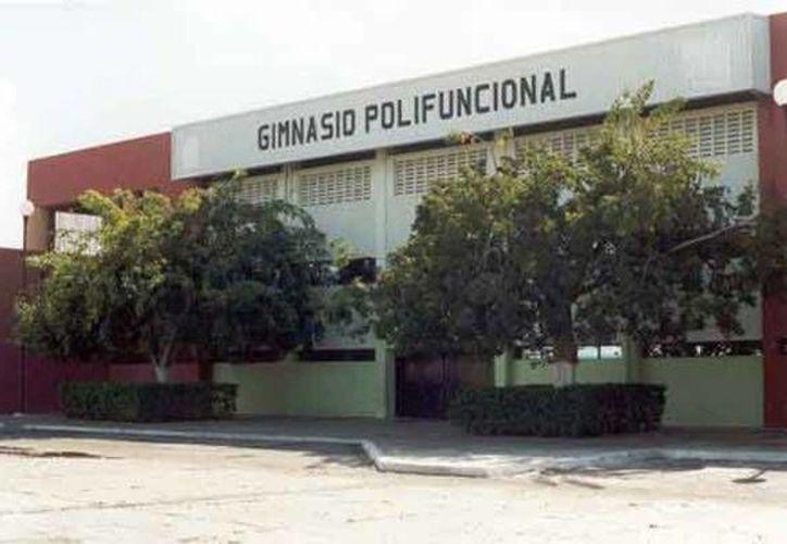 El Gimnasio Polifuncional será sede del torneo Intercambio Deportivo Internacional. (Milenio Novedades)