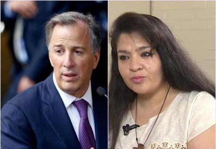Nestora Salgado se defiende y acusa que existe una campaña en su contra por parte del PRI y José Antonio Meade. (Contexto/Internet)