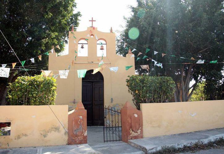 En el pequeño poblado de Cosgaya, ubicado al norponiente de Mérida, existen dos capillas. (Jorge Acosta/Milenio Novedades)