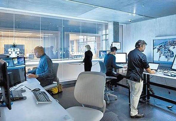 El cuartel cuenta con un laboratorio de ciencia forense enfocada a la informática. (Cortesía/Milenio)