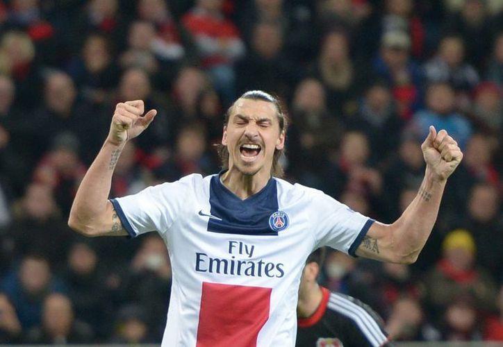 Ibrahimovic y sus compañeros ya son bicampeones de Francia, pero aún les queda jugar este mismo miércoles. (EFE)