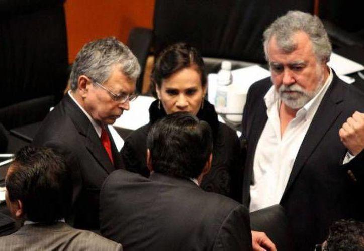 Encinas (d): el ambiente en general se ha enrarecido aquí en el Senado. (Notimex/Foto de archivo)