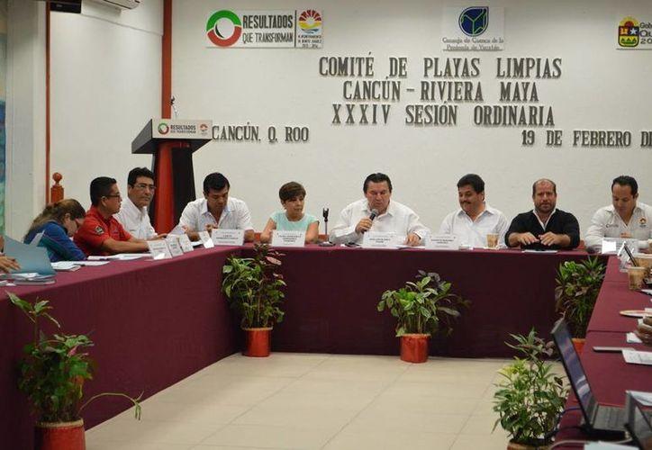 La reunión tuvo lugar en el salón presidentes del Palacio Municipal en Cancún. (Cortesía/SIPE)