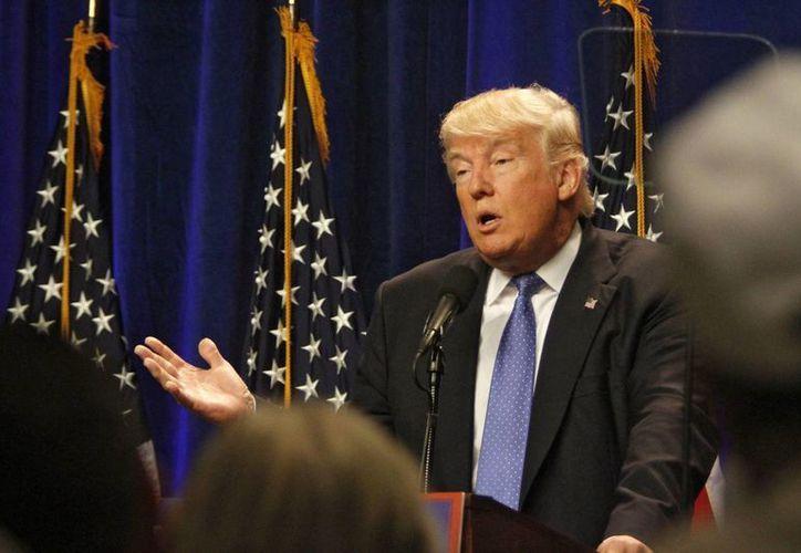 Donald Trump reiteró sus políticas antiterroristas tras conocer el atentado en la ciudad francesa de Niza. (EFE)