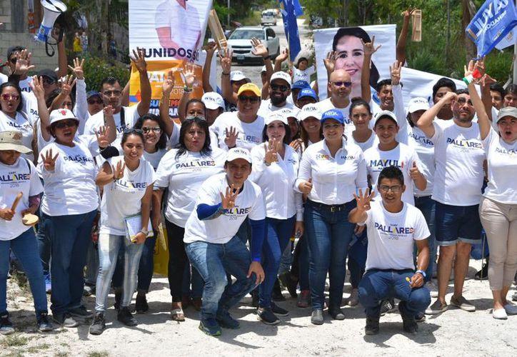 """La abanderada de la coalición """"Por Quintana Roo al Frente"""" afirma que sus propuestas son de la propia gente. (Redacción/SIPSE)"""