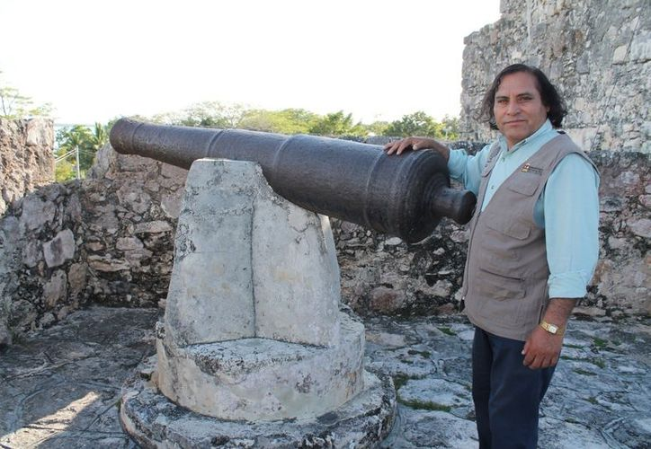 El fuerte de Bacalar, edificación estudiada en un foro. (Jorge Carrillo/SIPSE)