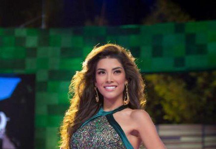 La representante de México, Wendy Esparza, no clasificó a las rondas finales de Miss Universo, concurso que se realiza este domingo en Las Vegas, Nevada. (Imagen tomada de www.voy.com)