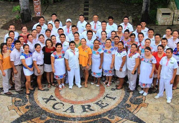 Por primera ocasión el grupo Xcaret participó en Chetumal y ofertó 180 vacantes. (Experiencias Xcaret)