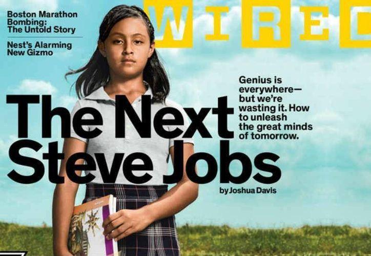 La joven es la más destacada en matemáticas y aprende por sí sola, sin que medie un adulto. (Agencias)