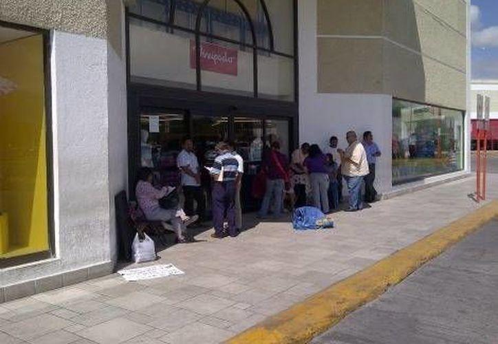 En las protestas participan educadores de diversas regiones. (Óscar Rodríguez/Milenio)