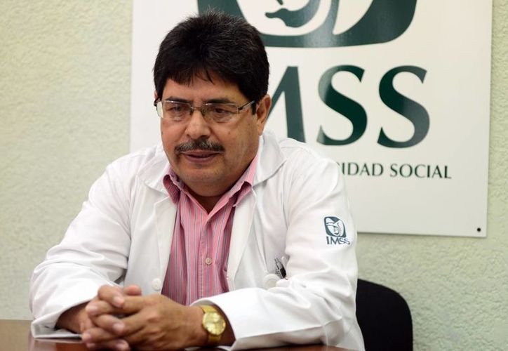 Vicente  Alférez López, oncólogo de la UMAE del IMSS. (Milenio Novedades)