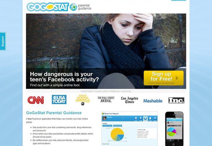 Gogostat registra cambios de estatus, divide los contactos por edades y ubicación. (gogostat.com)