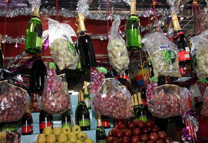 Muchos productos para la cena de Año Nuevo elevaron su costo por los cielos en los últimos días. (Milenio Novedades)