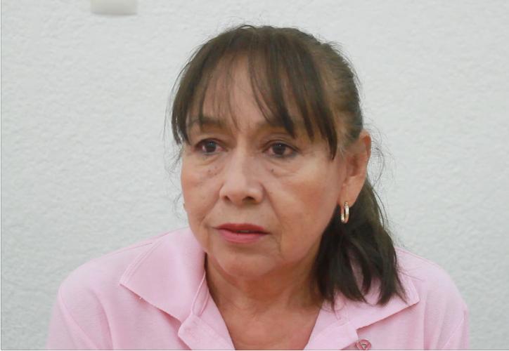 Angélica Vázquez Macedo tenía 36 años cuando le fue diagnosticada la enfermedad. (Foto y video: Sergio Orozco/ SIPSE)