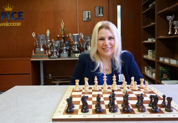 La maestra Susan Polgar es reconocida en el ajedrez a nivel internacional. (Milenio Novedades)