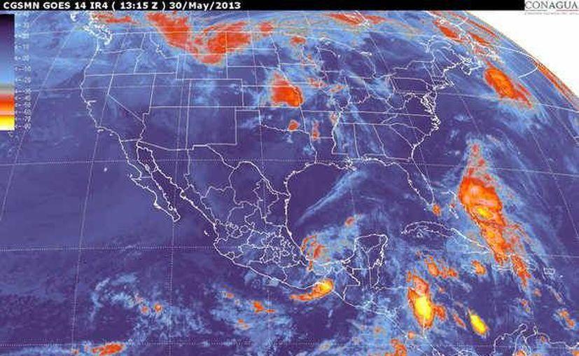 Soplarán vientos del este y noreste de 30 a 50 km/h. (Cortesía/SIPSE)