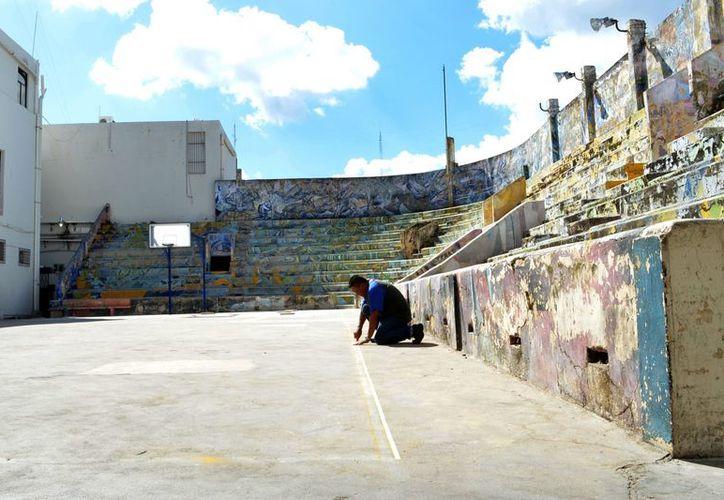 La cancha de la Uady fue inaugurada el 19 de noviembre de 1958. (Theani Ruz)