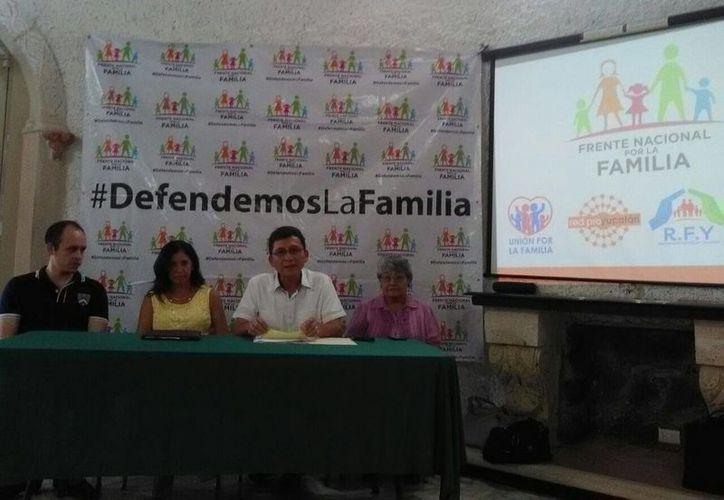En Frente Nacional por la Familia organiza una marcha para el próximo 10 de septiembre, en Mérida. (SIPSE)